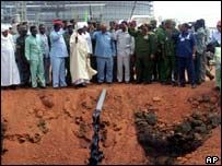 The first oil flowed in Sudan in 1999