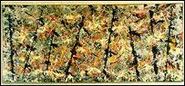 'Blue Poles: Number 11', de Jackson Pollock
