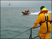 Search - taken by Dave Corben, Swanage Lifeboat