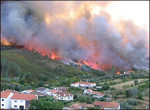 Covelos fire