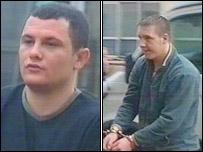 Christopher Raisis and Jamie Evans had denied manslaughter
