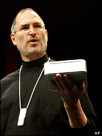 Apple chief executive Steve Jobs