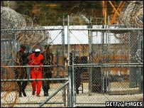 File image of the detention centre at Guantanamo Bay, Cuba