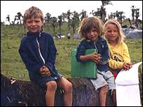 Niños en el acampamento Darci Ribeiro (Gentileza: MST)