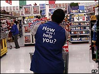 Wal-Mart store in the US