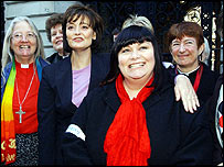 Dawn French at Downing Street