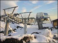 Bbc News Europe Rebuilding Etna S Ski Resorts