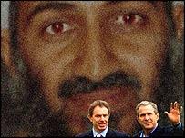 Blair and Bush in the shadow of Osama Bin Laden
