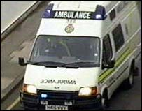 Image of an ambulance