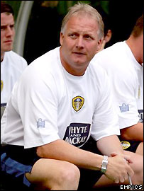 Leeds United manager Kevin Blackwell