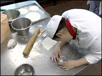 Pastry cutting: