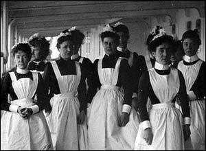 Cunard vessel. Copyright: The British Film Institute