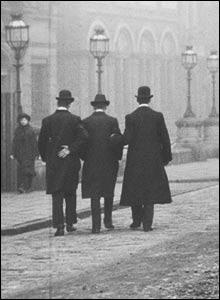 The arrest of Goudi. Copyright: The British Film Institute