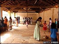 Tsunami-hit school in Galle, Sri Lanka