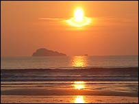 Whitesands beach, Pembrokeshire