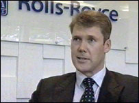 Tony Wood, MD of Rolls-Royce Defence Aerospace