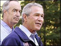President Bush speaking in Idaho