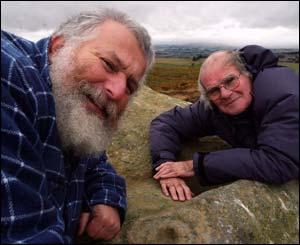 Aron Mazel and Stan Beckensall