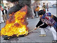 Shia protest in Lahore