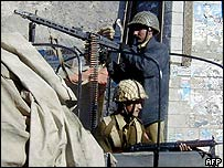 Soldiers in Gilgit