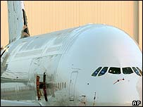 The first prototype of the Airbus A380