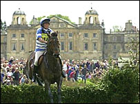 The famous horse trials held at Badminton House