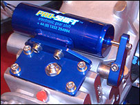 Photo of Pro-Shift electronic gear changer