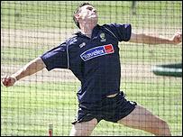 Australian pace bowler Shaun Tait