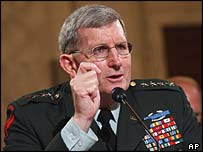 General Peter Schoomaker, US Army Chief of Staff