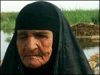 Mujer de los pantanos