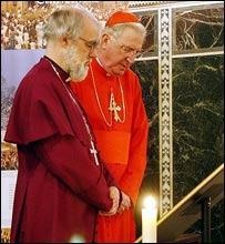 Dr Rowan Williams and Cardinal Cormac Murphy-O'Connor