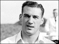 Nat Lofthouse during his England days