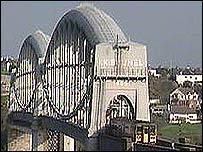Royal Albert Bridge in Saltash.
