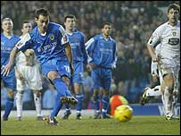 Peter Thorne equalised from the penalty spot