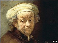 Rembrandt van Rijn Self-Portrait as the Apostle Paul (1661), National Gallery of Art in Washington