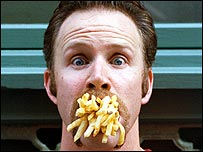 Image of Morgan Spurlock from Super Size Me documentary