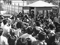 Tres �lamos (Foto gentileza Archivo Vicar�a de la Solidaridad)