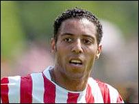 Millwall's new signing, striker Carl Asaba
