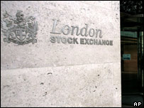 The headquarters of the London Stock Exchange