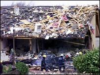 Larkhall explosion