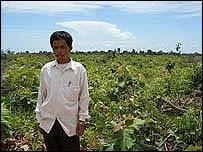 Village leader Kuch Veng