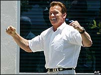 Californian Governor Arnold Schwarzenegger