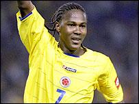 Colombia's Hugo Rodallega