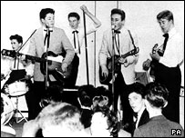 Paul McCartney's debut performance with The Quarry Men in 1957
