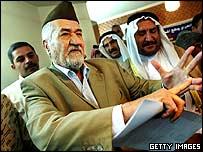 Sunni Arab leader Adnan al-Dulaimi