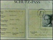Wallenberg's travel document