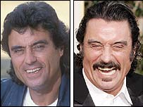 Ian McShane then as Lovejoy - and now in Deadwood