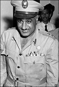 Former Egyptian President Gamal Nasser