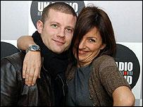 Dermot O'Leary and Davina McCall