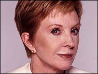 Image of redhead celebrity Anne Robinson